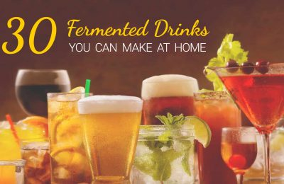 30 Fermented Drinks You Can Make at Home
