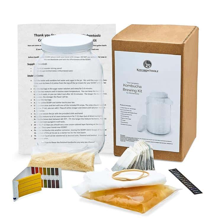 Complete Kombucha Starter Brewing Kit