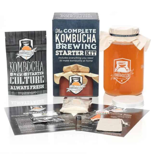 The Complete Kombucha Brewing Starter Kit