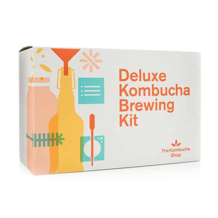 deluxe kombucha brewing kit