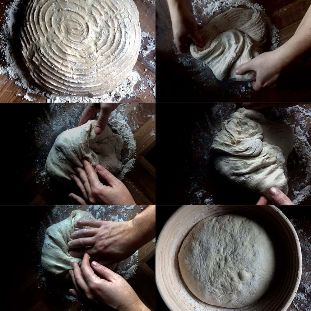 sourdough bread baking process
