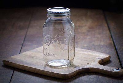 Wide mouth mason jar