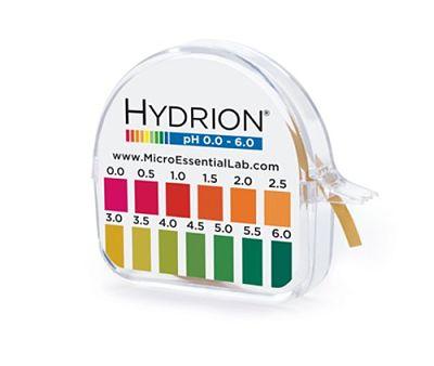 Hydrion Brilliant pH Strips