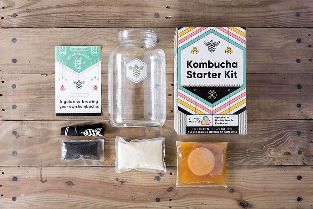 Kombucha Starter Kit by Humble Bumble Kombucha