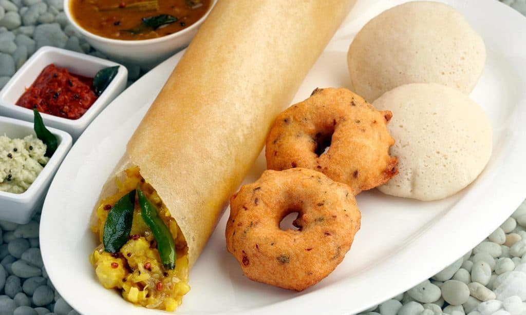 South Indian Dosa and Idlis