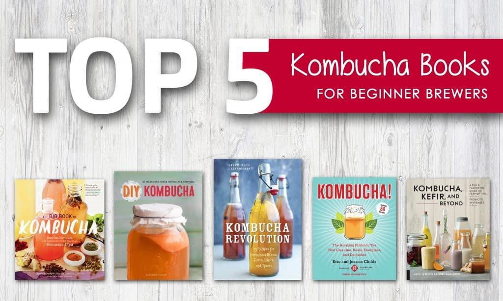 Top 5 Kombucha Books for Beginner Brewers