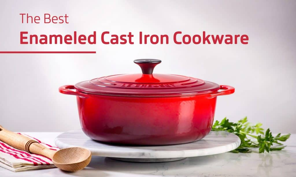 The Best Enameled Cast Iron Cookware [Lodge vs Le Creuset]