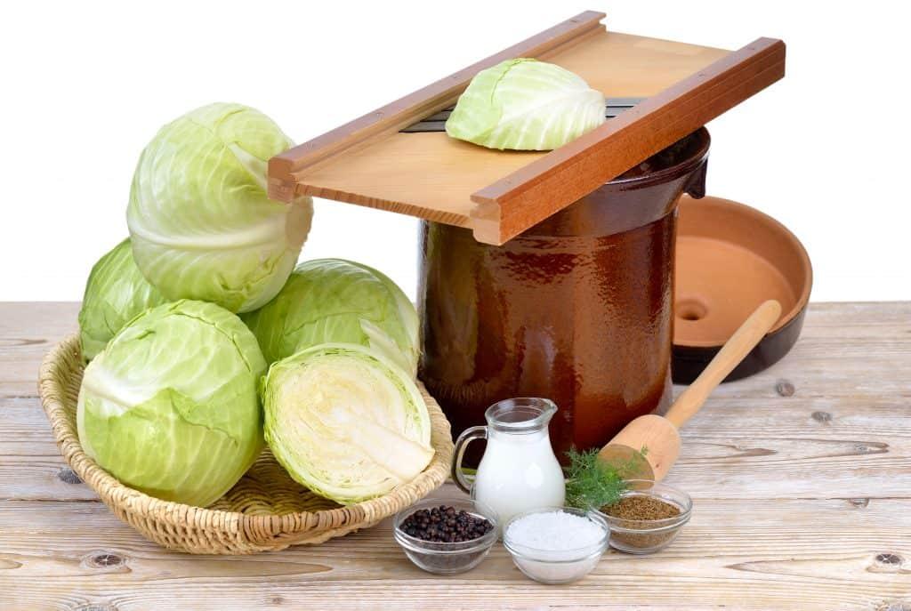Cabbage fermentation supplies