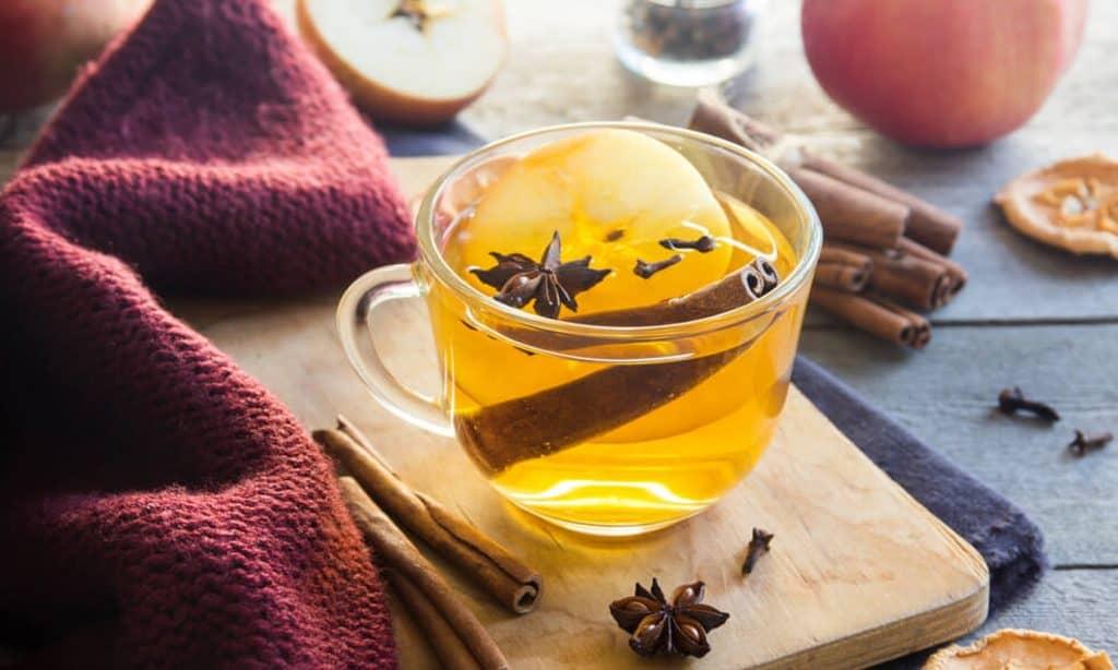 ACV detox tea