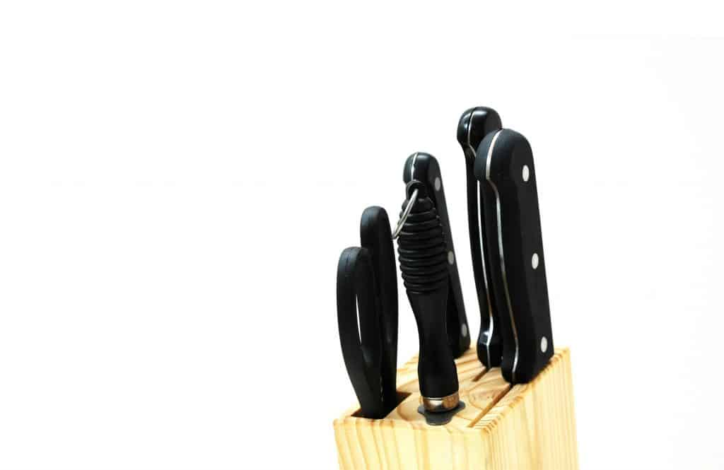 block knife set