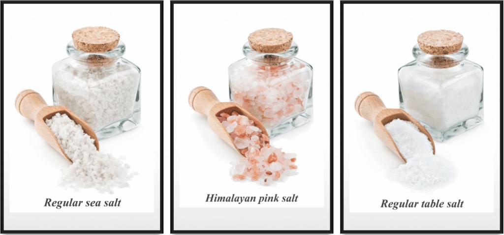 types of salt